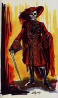 Red Death Costume Design by Opergeist