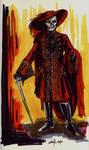 Red Death Costume Design