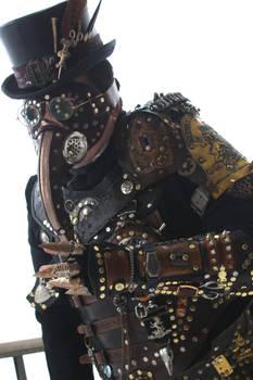 Steampunk Plague Doctor Armor