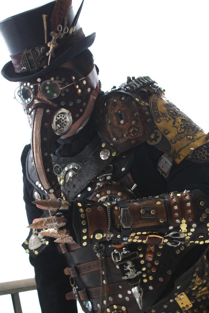 steampunk plague doctor armor by opergeist on deviantart