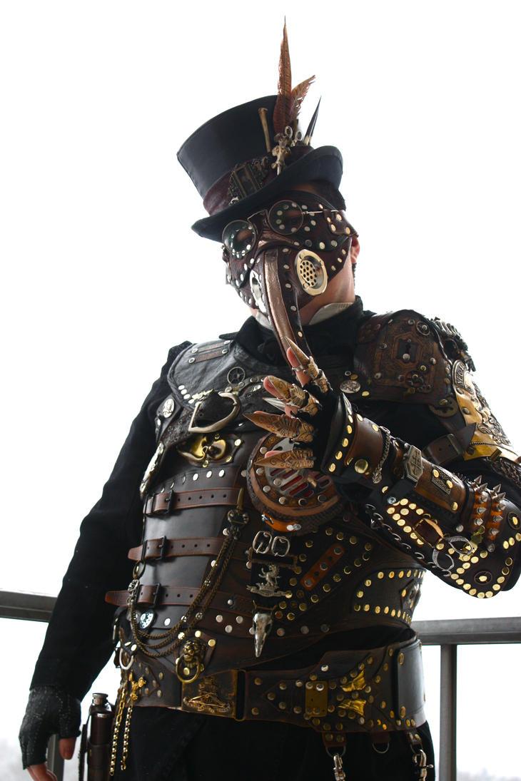 steampunk plague doctor armor ii by opergeist on deviantart