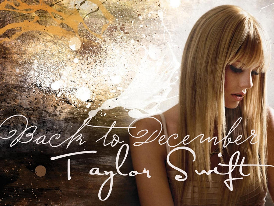taylor swift back to december pics. taylor swift back to december