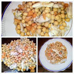 Salad With Chikpeas and Chicken by Artemisia96