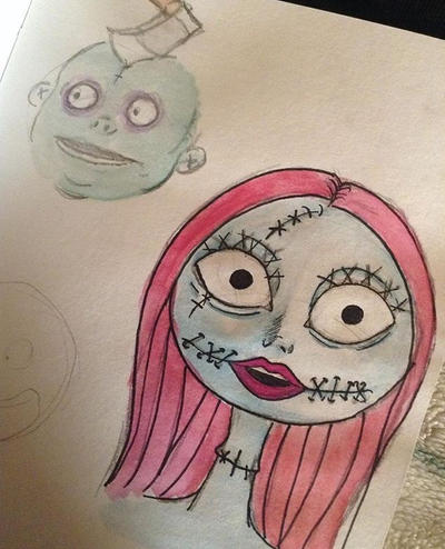 Nightmare before Christmas sketches by Cindy140 on DeviantArt