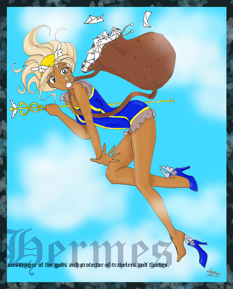 hermes messenger of the gods