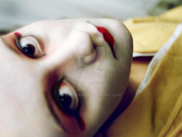 Cat Eyed Geisha by nifflheim