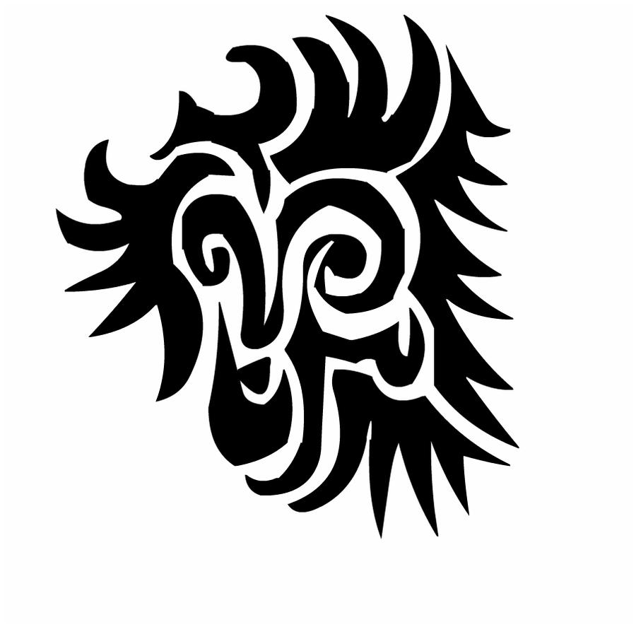 Tribal Lion by silma on DeviantArt