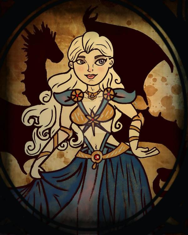 Daenerys Stormborn by Little-Birds-Art