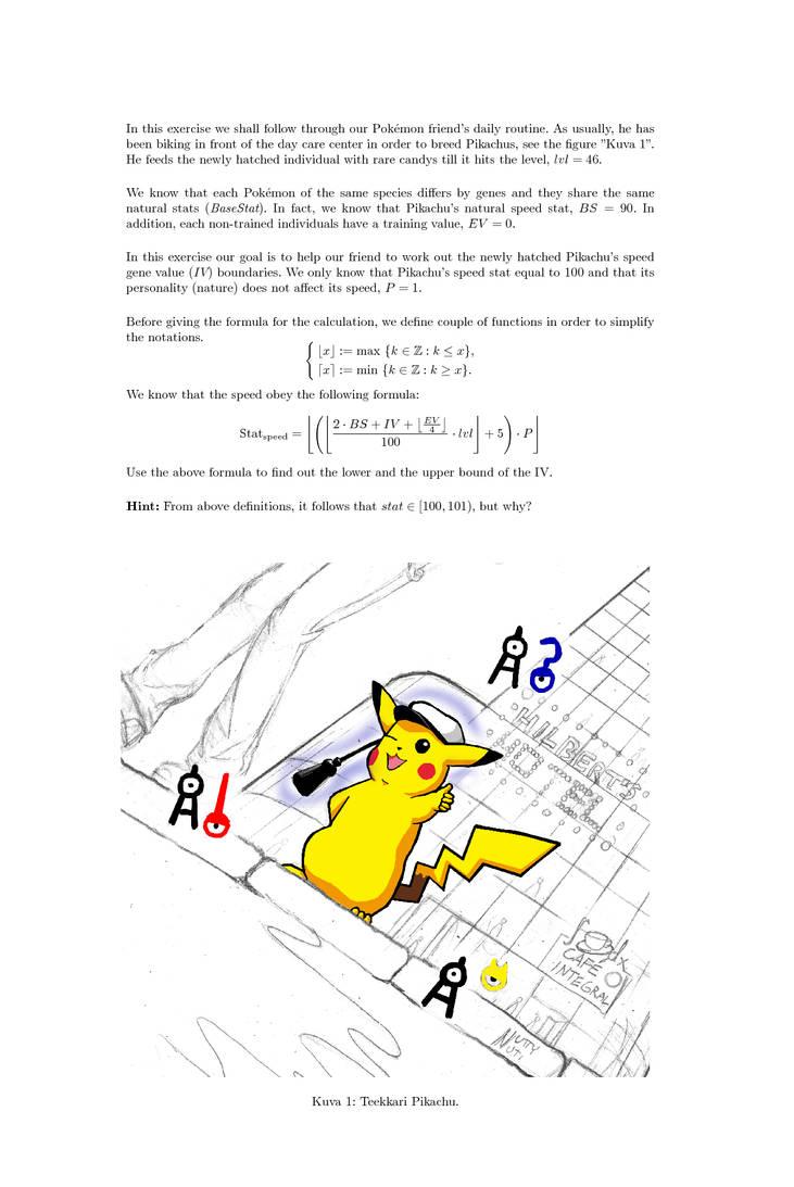 Polytecnic Pikachu Exercise by NuttyNuti on DeviantArt