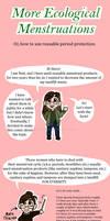Info Comic - More Ecological Menstruations