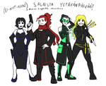 Friends' Day: Agent Time! by NuttyNuti