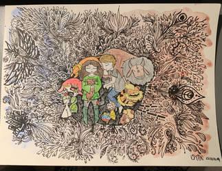 Pokemon zen doodle