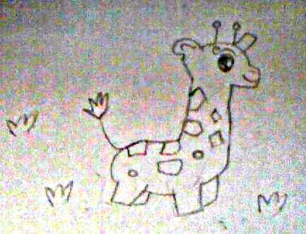 baby giraffe c: by xxGabbyGorexx