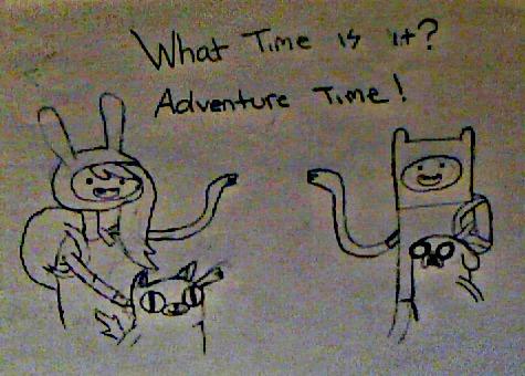 WhatTimeIsIt?AdventureTime by xxGabbyGorexx
