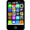 Iphone Pixel Art by Matrix-Soldier