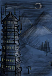 China Tower by CleverFoxImages