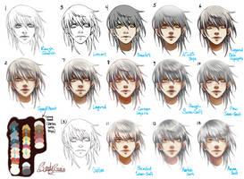 Manga and Vector Styles Chart~