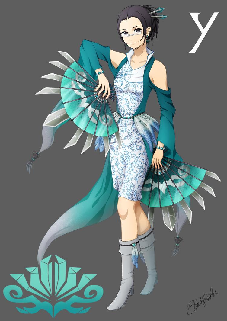 Team SYRA- Yu (Jade) by BloodyRosalia