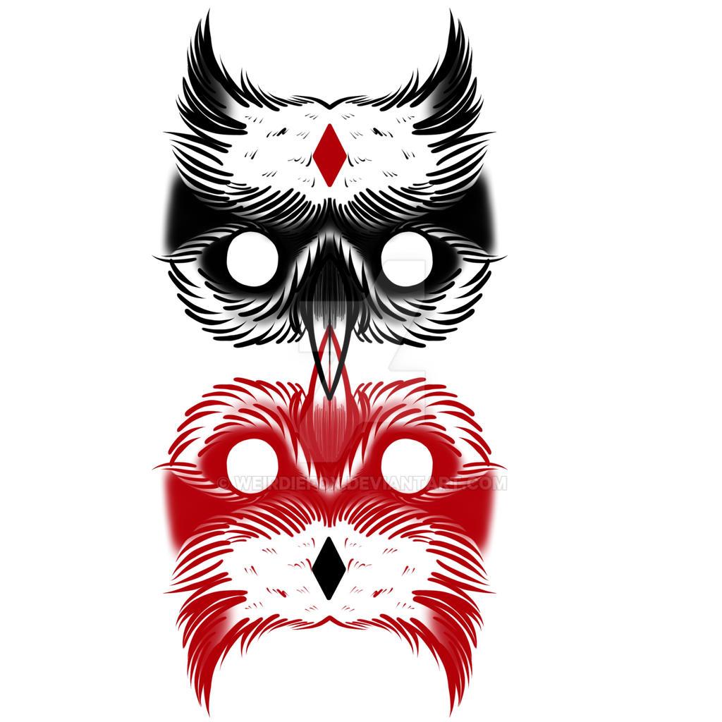 Owl by weirdiefox