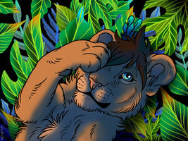 Commission - Twitterlu by weirdiefox