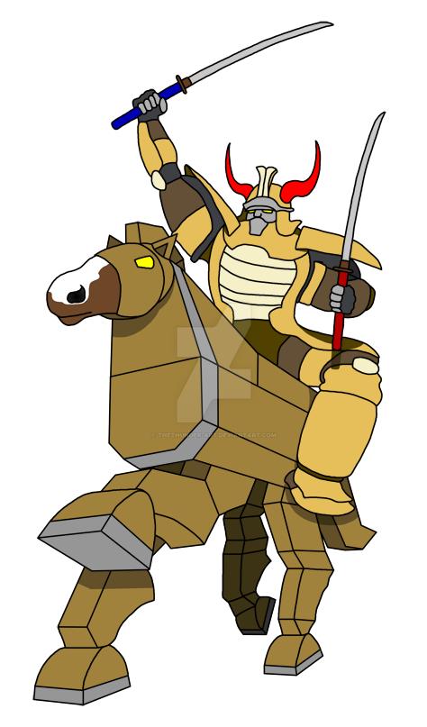 Trojan, Spirit of Wood by TheThunder-Art on DeviantArt