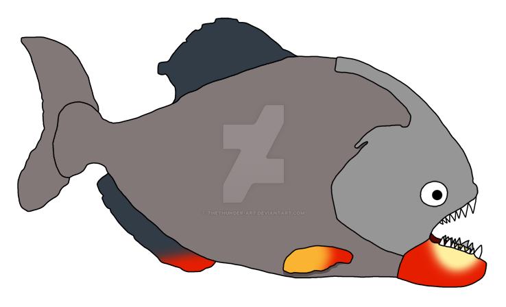 Armored Piranha by TheThunder-Art