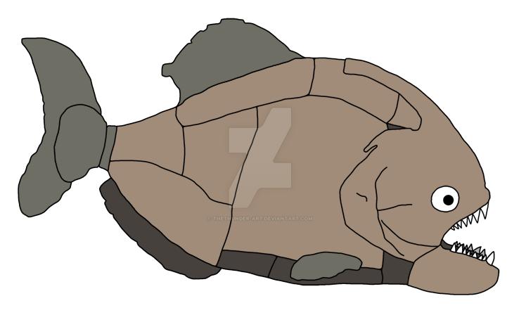 Rock Piranha by TheThunder-Art