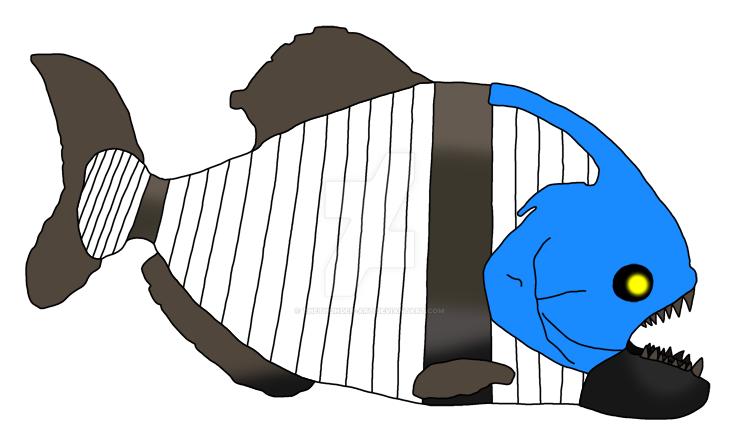 Piranha Mummy by TheThunder-Art