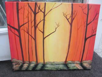 Warm forest by Art-Essel