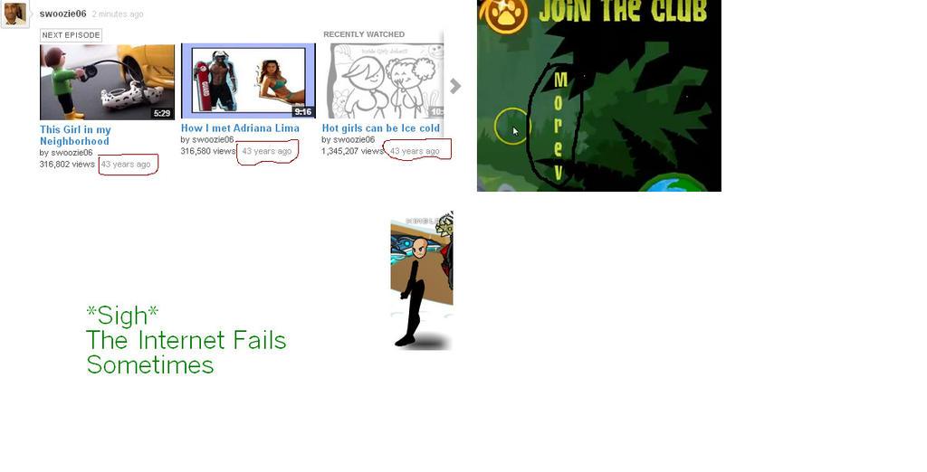 Internet Fails by DerpysGalleria