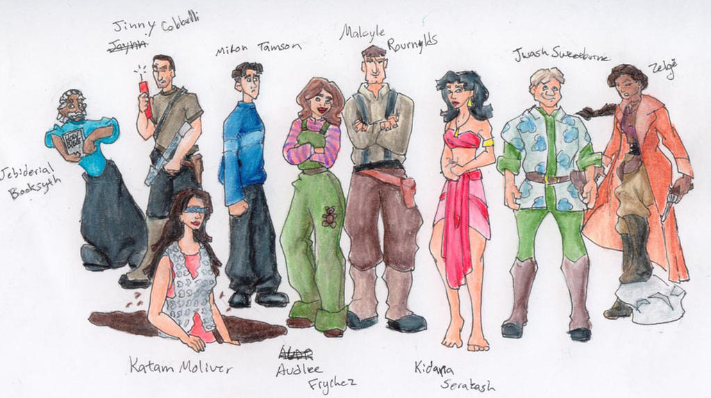 Disney Atlantis Character Design : Disney s firefly atlantis by nebulan on deviantart