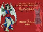 Garg-Princess Mulan Wallpaper