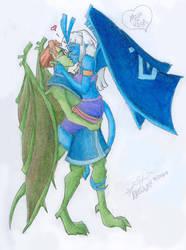 Milo-Kida Gargoyles by Nebulan