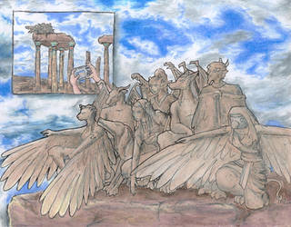 Stone Egyptian Clan by Nebulan