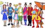 MSB Kids as Avatar Benders