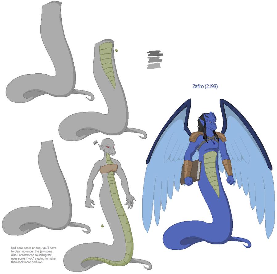 Zafiro 2198 and Naga-Garg Bases by Nebulan on DeviantArt