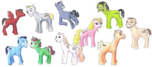 Studio C - My Little Ponies