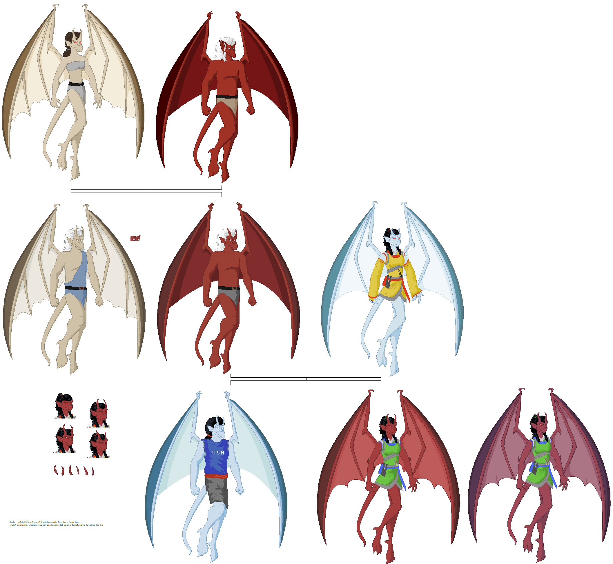 Other Gargoyles by Nebulan on DeviantArt