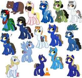 State Ponies - Siblings