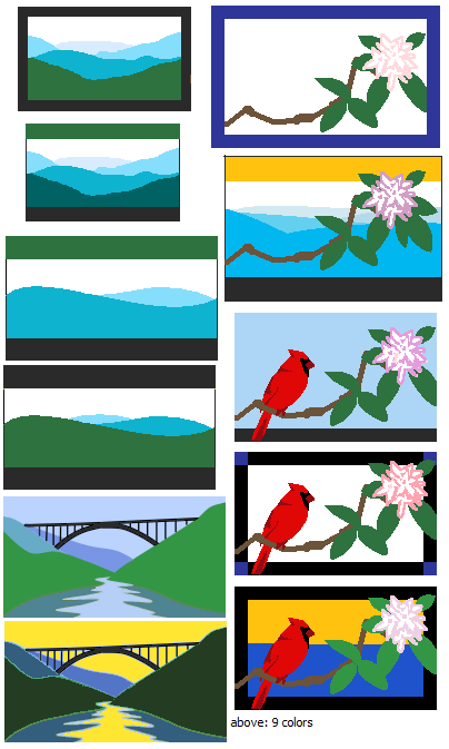 New West Virginian Flag Please by Nebulan