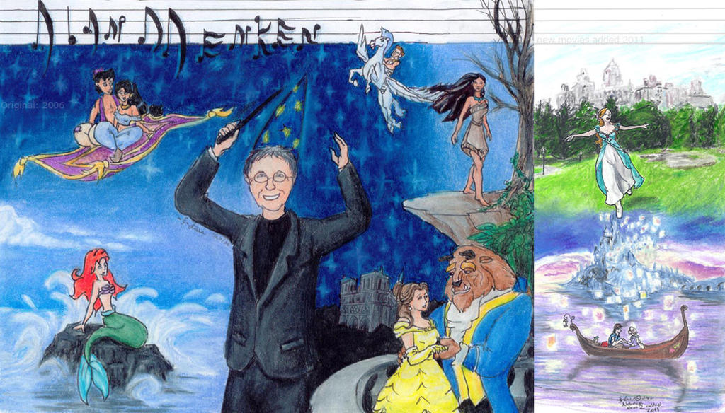 Alan Menken and Howard Ashman - Tim Rice - Aladdin French Canadian Soundtrack - Version française originale