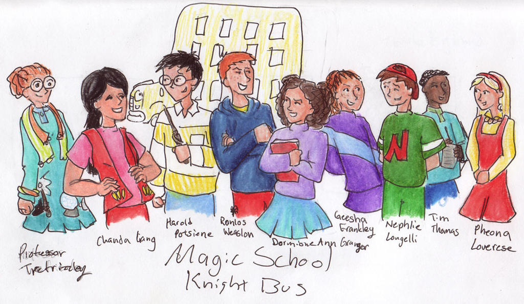 The Magic School Bus Class Magic School Knight Bus by