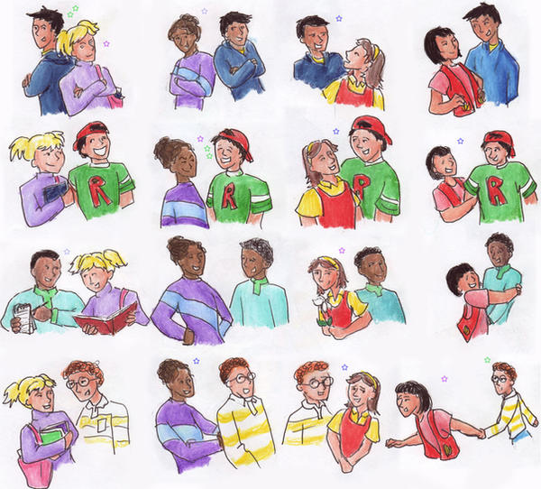 Magic school bus characters ralphie magic school bus parings by
