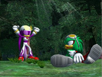 Jet and Wave by Tailsu-cunJet And Wave