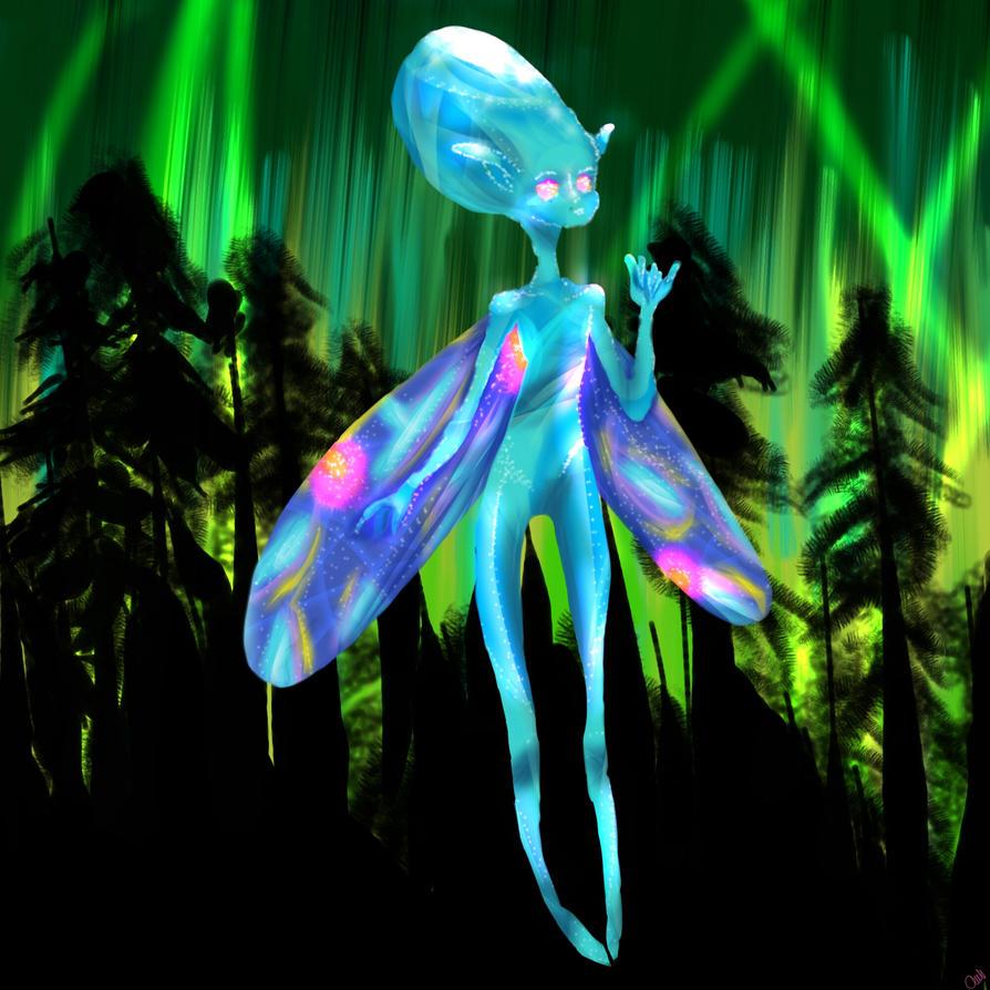 crystal fairy  by Torissa