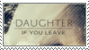 Daughter Stamp by CarryOnLostFriends