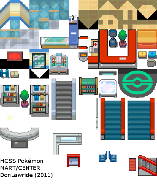 HGSS Center And Mart Tiles By DonLawride On DeviantArt
