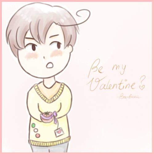 Be my Valentine? *APH-Romano* by MischievousRibbon