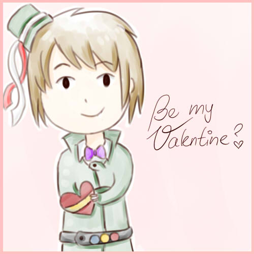 Be my Valentine? *APH-Romania* by MischievousRibbon
