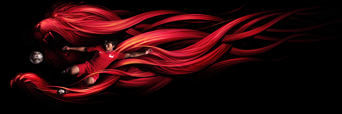Nike Lions by velinov